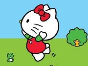 Хелло Кітті стрибає