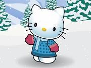 Хелло Кітті зимовий одяг
