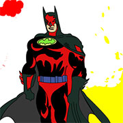 Бетмен розмальовки
