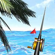 Рибалка з берега в море