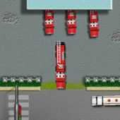 Гонки на пожежних вантажівках