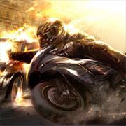 На двох мотоцикли