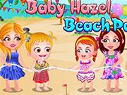 Малятко Хейзел вечірка на пляжі