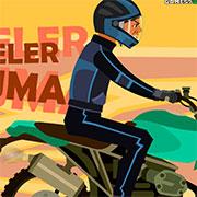 Мотоцикл в пробці
