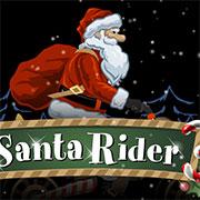 Санта на мотоциклі