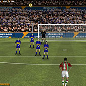 Футбол 3д: круте пенальті