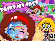 Малювати на обличчі фарбами