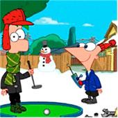 Фініс і Ферб грають у гольф