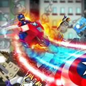 Лего Капітан Америка: полювання за Червоним черепом