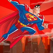 Супермен: увернись від каменів
