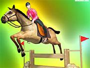 Скачки на конях 3
