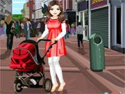 Мама з коляскою