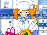 Кухар на кухні