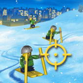 Новорічні Лего Гонки на лижах