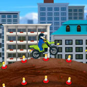 Лего Гонки: Стрибки на мотоциклах