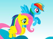 На двох поні