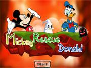 Міккі рятує Дональда