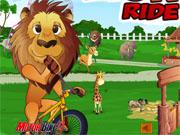 Король лев на велосипеді