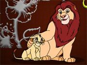 Король лев розмальовка