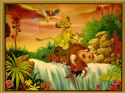 Король лев збери картинку