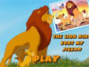 Король лев супер пазл