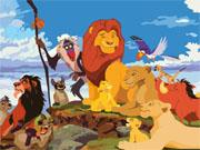 Король лев мега пазл