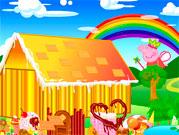 Свинка Пепа будує будинок