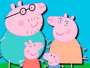 Свинка Пепа три в ряд