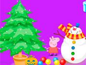 Свинка Пепа новий рік