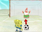 Губка Боб футбол