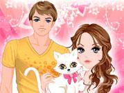 Хлопець і дівчина одягалки