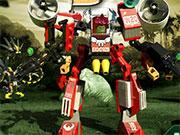 Лего роботи в джунглях