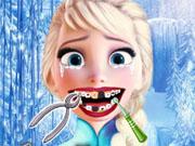 Ельза у дантиста
