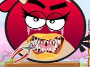 Злий птах у стоматолога