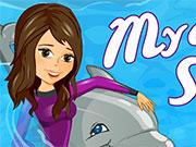 Виступає дельфін
