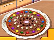 Шоколадна піца