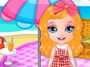 Дівчинка на пікніку
