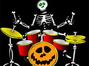Скелет музикант