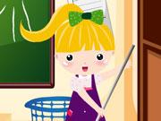 Прибирання в школі