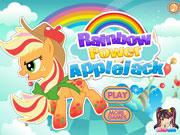 Яблучна райдужна поні