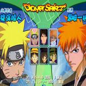 Бійки на двох c героями аніме