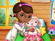 Доктор Плюшева лікує тварин