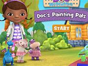 Доктор Плюшева малювати іграшки