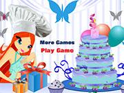 Винкс готувати торти