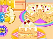Банановий торт