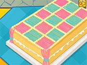 Кольоровий торт