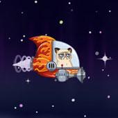 Сумовитий космічний кіт