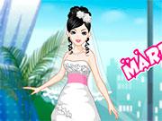 Для дівчаток весільні одягалки