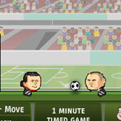 Футбол головами на двох