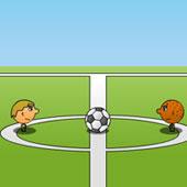 Футбол на двох: Великі голови
